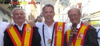 TunaEspaña. Don Jose Antonio Roma Riera, Don Dudo, D. Jesus Marquez, dism