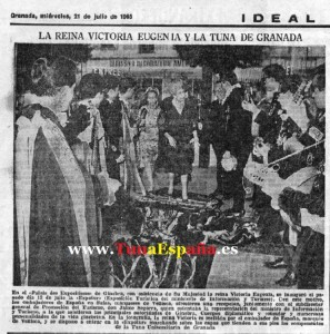 GENEV� 1965 IDEAL Tuna España, Tunas universitarias, estudiantinas