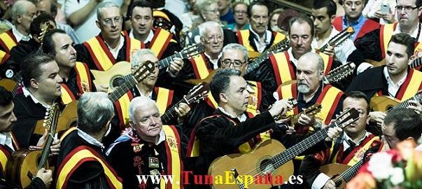Tuna España , Tunas Universitarias, Tunas y estudiantinas, cancionero tuna, certamen internacional Tuna Costa Calida, Don Dudo, Tuna Medicina Murcia