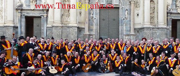 TunaEspaña, Catedral Murcia definit, cancionero tuna