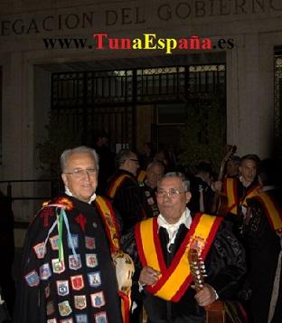 TunaEspaña, Don Visedo, Don Perdi, dism,cancionero tuna