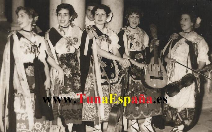 TunaEspaña-Murcianicas-Universidad-1952, Carlos Espinosa Celdran, Don Dudo, DonDudo
