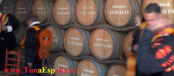 Tuna España, Bodega Los Juncales, Cancionero tuna