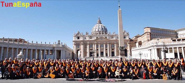 TunaEspaña, Vaticano, TunaEspaña, Don Dudo,2, Juntamento Roma, Carlos Espinosa, Tuna España