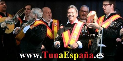 Tuna España, Tunas de España, Cancionero tuna, Tuna Universitaria