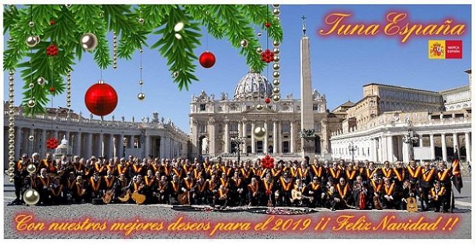 TunaEspaña,Feliz NAVIDAD, Felices Pascuas, Don Dudo, Carlos Espinosa Celdran