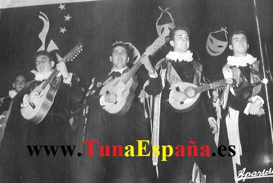 Tuna España (1962) Ant Castillo Miguel Parraga Jose Campillo Luis Mulleras Teatro Romea