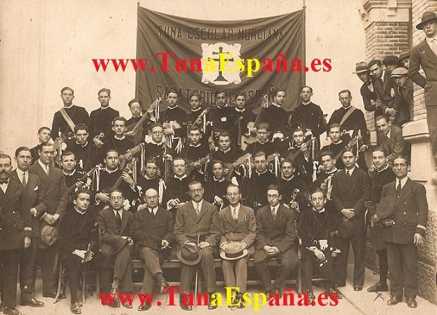 Tuna Murciana 1929, TunaEspaña, Tuna España, Dism