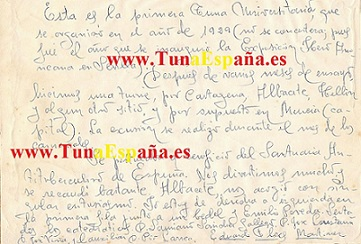 Tuna Murciana 1929, TunaEspaña, Tuna España, Explicacion, marca, 5dism