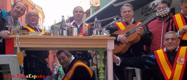TunaEspaña, Don Dudo, Carlos Espinosa Celdran, Leon, Cangrejo, Aberroncho