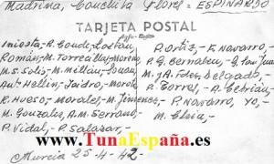TunaEspaña (Nombres  Componentes de la Foto) 1942