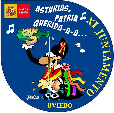 Tuna España – Universitaria » Blog Archive »  LapicitoTunaEspaña-Pegatina-Juntamento-Oviedo-Carlos-Espinosa-Celdran