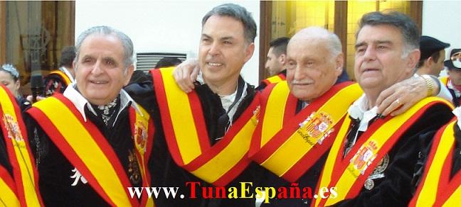 Tuna España, Don Dudo, Don Mique, Don Pepelu, Don Luis Oñate, Juntamento, Certamen Tuna, cancionero tuna, canciones de Tuna, ronda la tuna