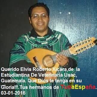 TunaEspaña, Elvis Roberto Xicara, cancionero tuna, musica tuna
