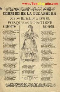 TunaEspaña-Tunas-Españolas-Tunas-Universitarias-musica-tuna-certamen-tuna-certamen-tuna, Cancionero Tuna, La Cucaracha