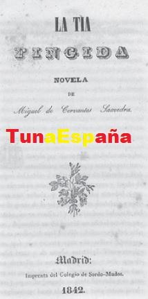 TunaEspaña, Cervantes, Bibliografia Tuna