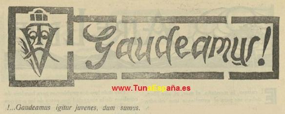 TunaEspaña-Gaudeamus Igitur