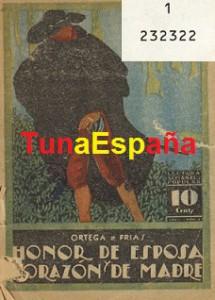 TunaEspaña, Hemeroteca Tuna. Libros de Tuna, Honor, 04