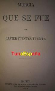 TunaEspaña, La Murcia que se fue, Bibliografia Tunantesca, Libros de Tuna, 02