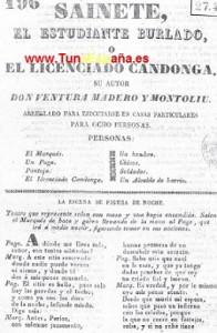 TunaEspaña, Libros de tuna, Archivo buen tunar, 66, dism