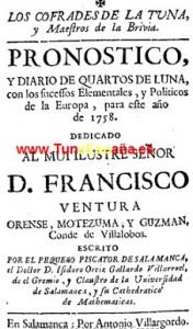 TunaEspaña, Libros de tuna, Archivo buen tunar, 73