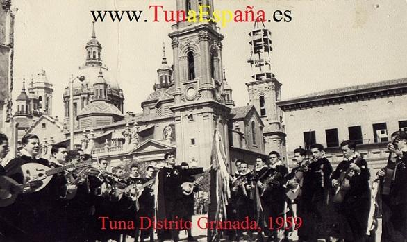 Certamen Tunas Zaragoza  TunaEspaña Tuna Distrito Granada