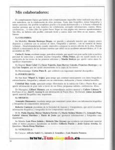 Cien Años de Boleros Colaboradores Tunas Universitarias, Tuna España, I