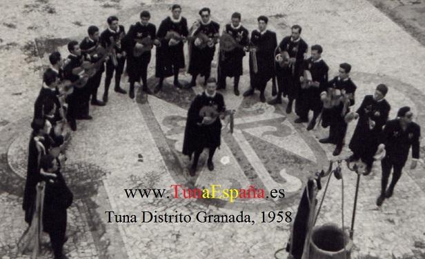 Convento dominicos. Almagro 15-12-58 TunaEspaña Tuna Distrito de Granada