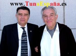Don Mique con Jose Luis y su guitarra mayo 2004 TunaEspaña