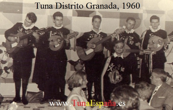 En el Valentino Düsseldorf 1960 TunaEspaña Tuna Distrito de Granada