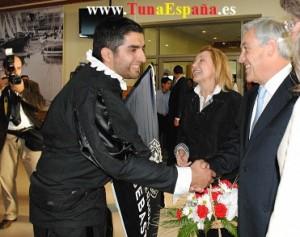 Presidente de Chile D. Toto  CoFundador de la Tuna de la Universidad San Sebastian, de Puerto Montt, Chile