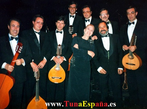 Tuna España, Caligula, Maria Dolores Pradera, Piti, Los Gemelos