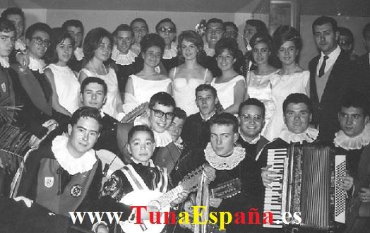 TunaEspaña, Dr Anchoa,1964.02.14. Tuna de Peritos Industriales en el Paso del Ecuador