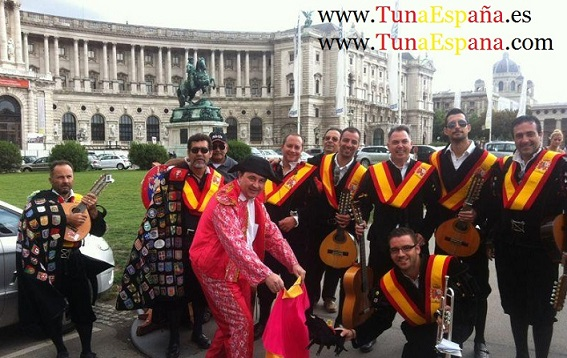 Tunas Universitarias, Tunas y Estudiantinas, Tuna España Viena Palacio Imperial 3