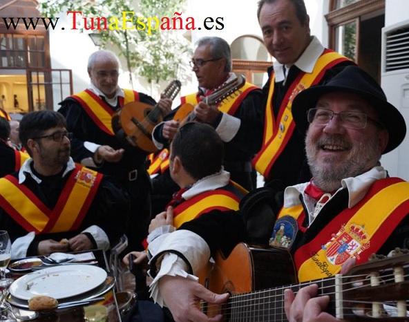 TunaEspaña, Don Bibiano, Don Patriarca, Tunas Universitarias