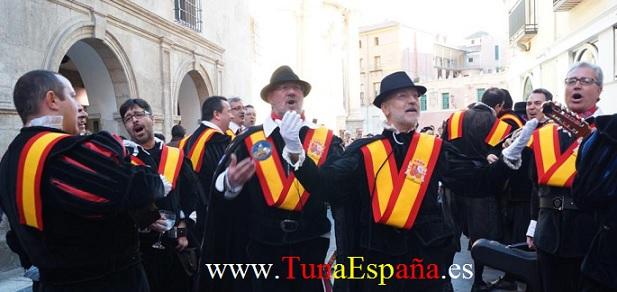 TunaEspaña, Don Paco Villar, Tunas Universitarias