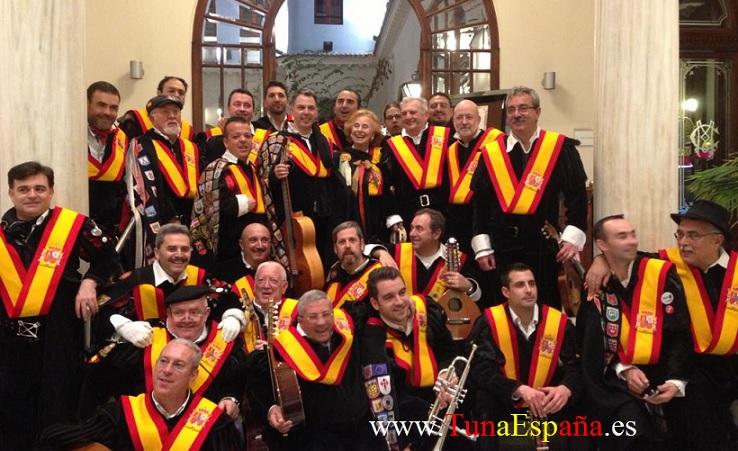 TunaEspaña, Tunas Españolas, Tunas Universitarias, Universidad