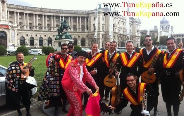 01 Tuna España Viena Palacio Imperial, Cancionero tuna