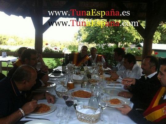 Tuna España comidica Viena, tuna universitaria