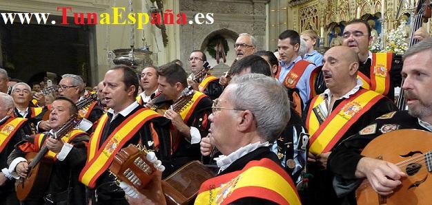 TunaEspaña, Catedral Murcia, Ocho, cancionero tuna, estudiantina