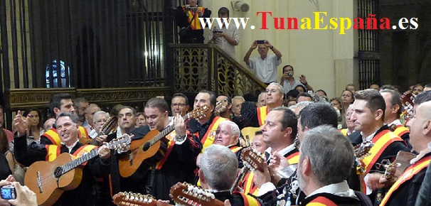 TunaEspaña, Catedral Murcia, cancionero tuna, Duque, Don Dudo, tuna universitaria