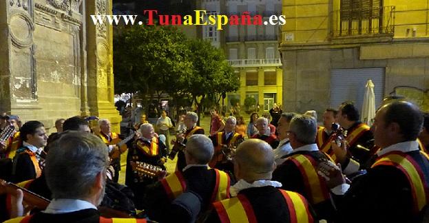 TunaEspaña, Catedral Murcia, cancionero tuna, tuna universitaria, estudiantina, canciones Tuna