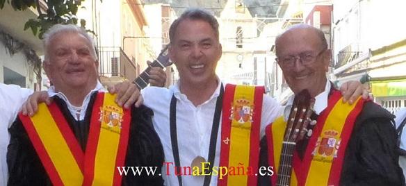 TunaEspaña, Don Jose Antonio Roma Riera, Don Dudo, Don Jesus Marquez, Dism, tuna universitaria