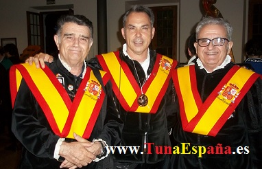 TunaEspaña, Don Mique, Don Dudo, Don Pepelu, Tunas Universitarias