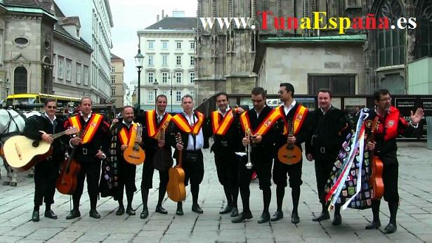 TunaEspaña, Don Patriarca, Tunas Universitarias,Viena, Austria, cancionero tuna