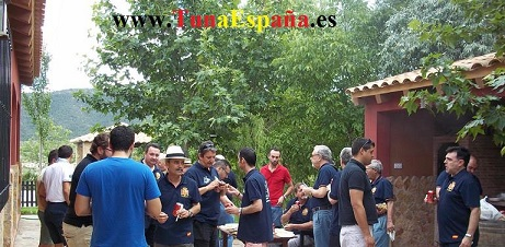 TunaEspaña, Tuna Universitaria, Campo Bullas, Sardinada, Tuna Universitaria, cancionero de Tuna