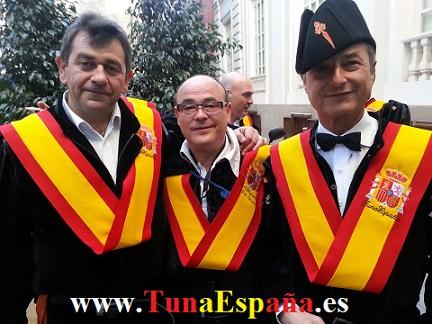 TunaEspaña, Tuna Universitaria, Don Aberroncho, Don Duracell, Don Cangrejo, Oleee