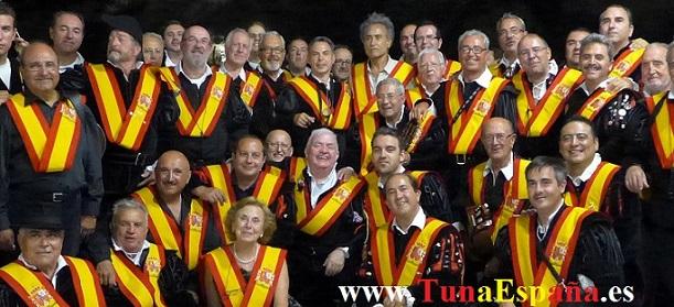 Tunas Universitarias, Tunas y Estudiantinas, Tuna España , Tunas, Pintor Pedro Cano, Cancionero tuna, fundacion,La Ronda