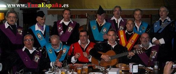 Tuna España, Rincon de la victoria, cancionero tuna, dism