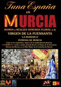 TunaEspaña, Carlos Espinosa Celdran, Don Dudo,Romeria de La Fuensanta